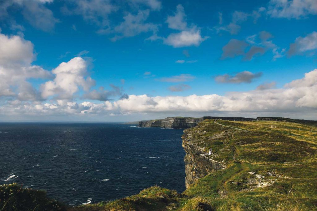 Coastline at The Cliffs of Moher, Co. Clare, Ireland