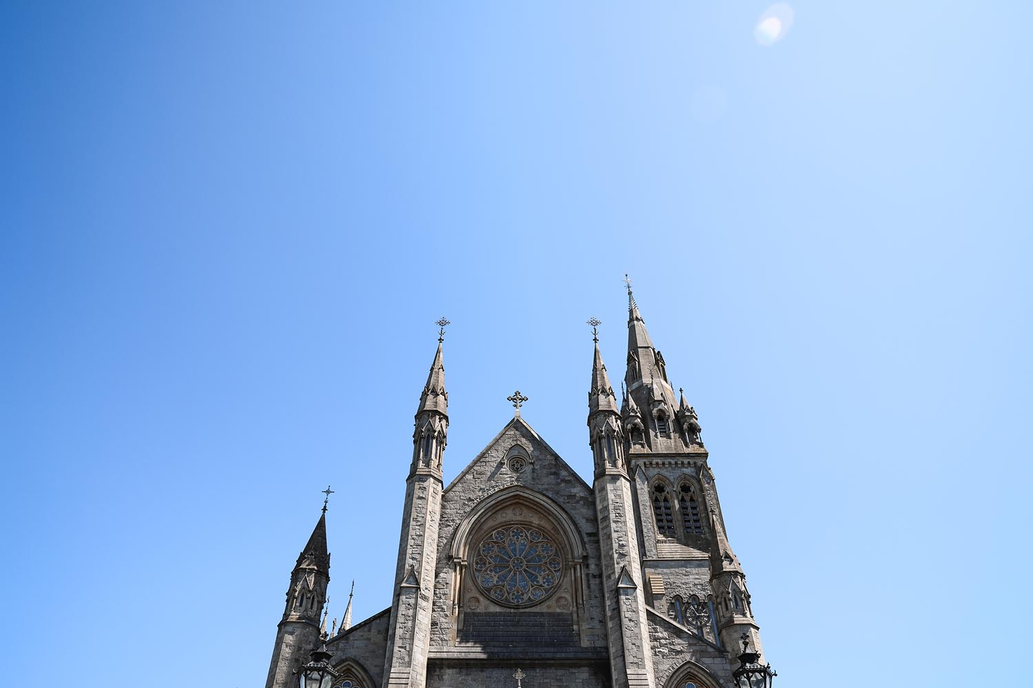 Detail shot of St Macartan's Cathedral, Monaghan, Ireland