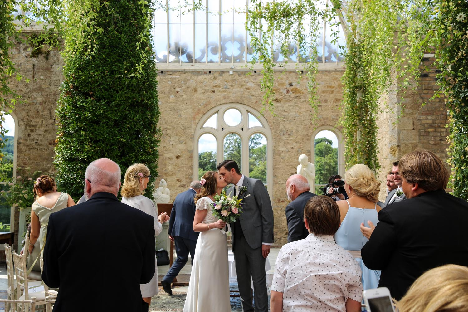 Wedding ceremony in The Orangery