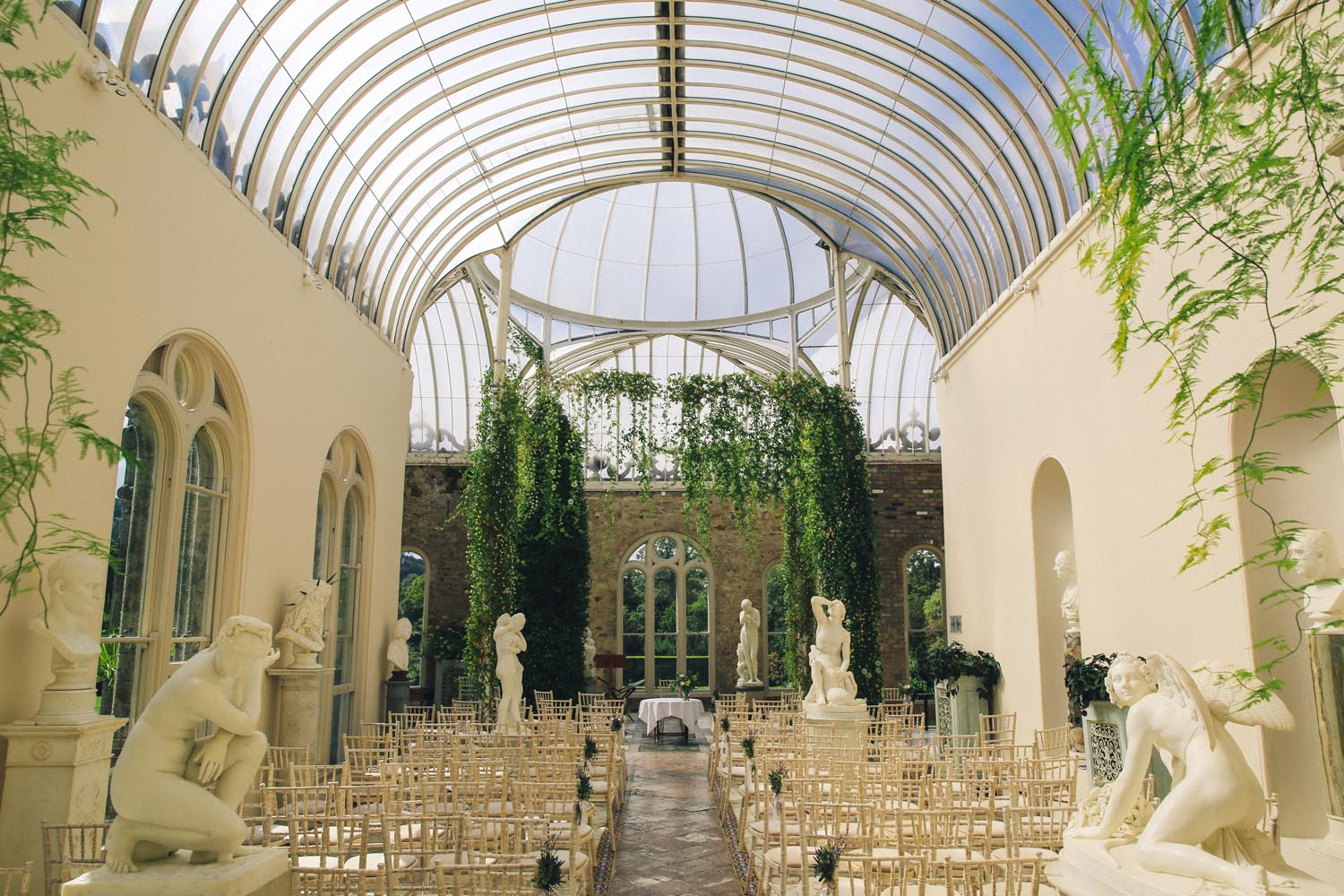 The Orangery at Killruddery House