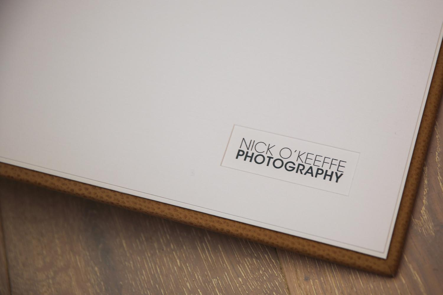 Nick O'Keeffe Photography wedding albums 15
